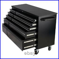 10 Drawers Chest Tool Box Roller Cabinet Heavy Duty Storage Unit Garage Workshop