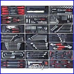 166 US Pro Tool Black steel Chest Box roll cabinet kit with tools BUY ON FINANCE