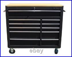 288 US Pro Tool Black Chest Box Roller Cabinet + tools finance option