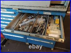 2x (Pair of) Dexion like Polstore Lista Vidmar Bott Roller Tool Cabinet