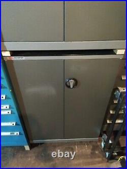 2x (Pair of) SSI Schafer like Polstore Lista Vidmar Bott Roller Tool Cabinet