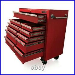 31 US Pro Tools Tool Chest Box roll cabinet toolbox Red box FINANCE AVAILABLE