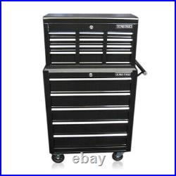 336 Us Pro Tools Tool Chest Rollcab Steel Box Roller Cabinet 12 Months Warranty