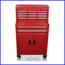 351 Us Pro Tools Gloss Red Tool Chest Box Drawers Mechanics Roller Cabinet