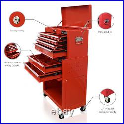 357 Us Pro Tools Red Tool Chest Box Roll Cabinet