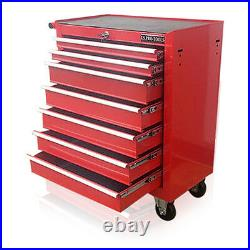 373 Us Pro Red Tools Affordable Steel Chest Tool Box Roller Cabinet 7 Drawers