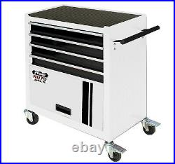 4 Drawer Roll Cab Portable Rolling Steel Cabinet Tool Storage Garage Chest