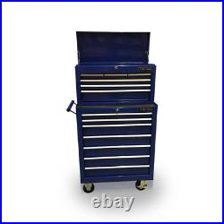 424 Tool Box Roller Cabinet Steel Chest Mechanics 13 Drawers Blue Us Pro Tools