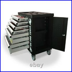 473 Us Pro Tool Chest Box With Tools Trays 6 Drawer Roller Cabinet 154 Pc