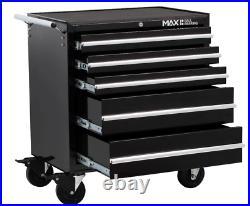489 TOOL KIT SET Trolley Chest Drawer Steel Mobile Storage Roller Cabinet TK489