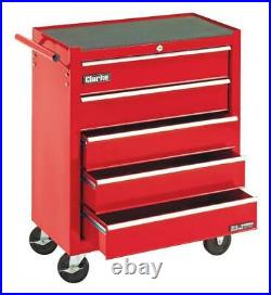 5 Drawer Roller Cabinet, Carrying Case Material Steel, For Clarke International