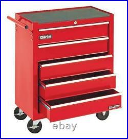 5 Drawer Roller Tool Cabinet CLARKE INTERNATIONAL