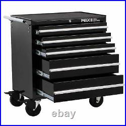 5 Drawer Tool Trolley Chest Storage Roller Cabinet