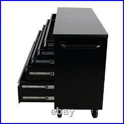 55 72 HEAVY DUTY TOOLS CABINET DRAWERS CHEST TOOL BOX WORKSHOP With ROLL WHEELS