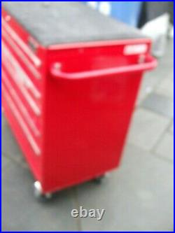 940mm 6 DRAWER ROLL CAB TOOL CABINET TOOL BOX HEAVY DUTY BALLBEARING SLIDES