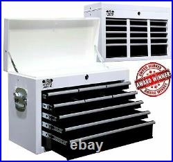 Autojack Metal Roll Cab 9 Drawer Top Box Tool Cabinet Lockable Storage Rollcab