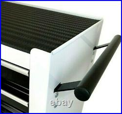 Autojack Portable Roll Cab Steel Tool Storage Chest 4 Drawer Garage Cabinet