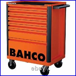 Bahco 7 Drawer Tool Roller Cabinet Orange