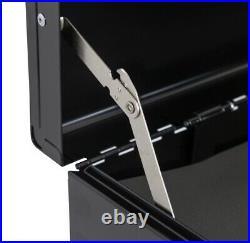 Black 8 Drawer Tool Box Tool Chest Roller Cabinet Workshop Garage Storage