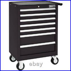 Britool E010232B 7 Drawer Roller Cabinet Tool Box Roll Cab Black