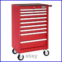 Britool E010233B 11 Drawer Roller Cabinet Tool Box Roll Cab Red