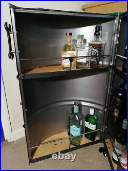 Castrol oil drum BAR, garage, man cave, Furniture, roller tool chest, Cabinet