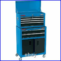 DENTED Draper 6 Drawer Combined Roller Cabinet And Tool Chest
