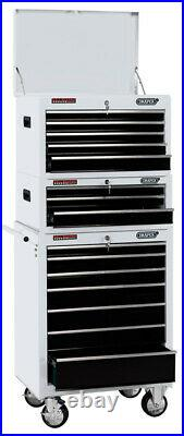 Draper 04597 26 Combination Roller Cabinet and Tool Chest (15 Drawer) CTCW