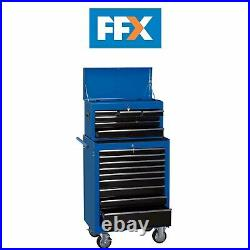 Draper 11533 26in Combination Roller Cabinet and Tool Chest 15 Drawer