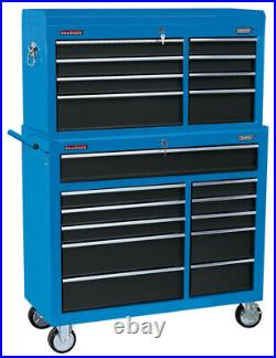 Draper 17764 40 Combined Roller Cabinet and Tool Chest (19 Drawer)