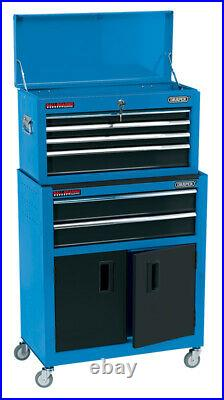 Draper 19563 24 Combined Roller Cabinet and Tool Chest (6 Drawer) RCTC6/B