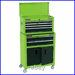 Draper 19566 24 Combined Roller Cabinet and Tool Chest 6 Drawer