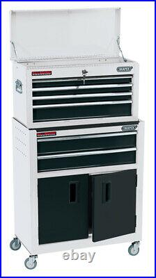 Draper 19576 24 Combined Roller Cabinet and Tool Chest (6 Drawer) RCTC6/W