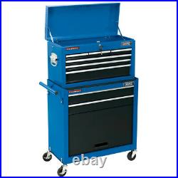 Draper 2 Drawer Roller Cabinet & 5 Drawer Tool Storage Chest for Garage/Workshop