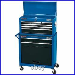 Draper 2 Drawer Roller Cabinet & Six Drawer Tool Storage Chest 51177