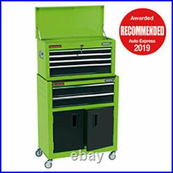 Draper 6 Drawer Roller Cabinet and Tool Chest Combination Green