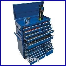 Draper 700 Piece Mechanic's MegaKit Tool Chest/Roller Cabinet Kit Set Tools Blue