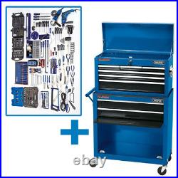 Draper 8 Drawer Tool Chest Roller Cabinet Kit 53219 GTK2B LOW PRICE snap it up