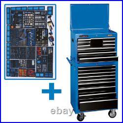 Draper Expert 19 Drawer Tool Chest Roller Cabinet 98888 26 MECHANIC'S MEGAKIT