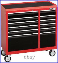 Draper Expert 40 Roller Tool Cabinet 12 Drawer Lockable Heavy Duty Steel Red