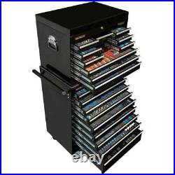 Draper Mechanic's MegaKit Tool Chest/Roller Cabinet Kit Set with 700 Tools Black