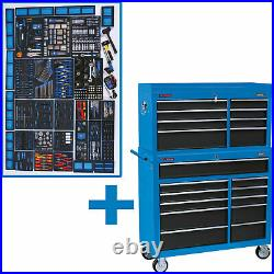 Draper Mechanics Megakit Roller Cabinet, Top Chest and 700 Piece Tool Kit