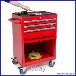 Expert Range Ball Bearings 3 Drawer & Roller Cabinet Tool Chest Unit 680mm