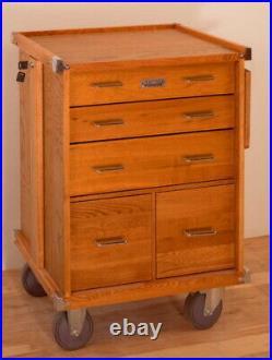 Gerstner International R24 5-Drawer Roller Cabinet for Work & Hobby Tools