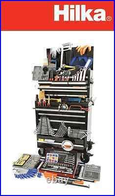 Hilka Professional Tool Cabinet PLUS 488 Piece Tool KIT TOOL ROLLER CAB & TOOLS