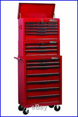 Hilka Tool Chest Trolley 19 Drawer Tools Storage Set Box Roll Cab Wheels Cabinet