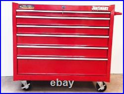 Job Smart 36 6 Draw Roller Cabinet Tool Chest with Top box & lockable JS3606B-2