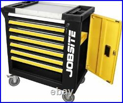 Jobsite 6 Draw Roller Tool Cabinet Chest & 5 Draws Containing 270pc Tools CT3323