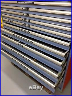 Lista Style 11 Roller Bearing Drawer Tool Cabinet German Masterpiece A Beauty