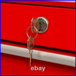 Lockable Workshop Tool Storage Heavy Duty Garage Trolley Case Roller Cabinet UK